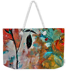 Weekender Tote Bag featuring the painting Joy by Lisa Kaiser