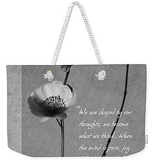 Joy Of Life Weekender Tote Bag by Xueling Zou