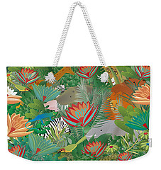 Joy Of Nature Limited Edition 2 Of 15 Weekender Tote Bag by Gabriela Delgado
