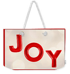 Weekender Tote Bag featuring the photograph Joy To The World by Vizual Studio