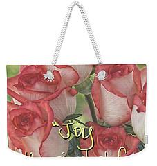 Joyful Gratitude Weekender Tote Bag