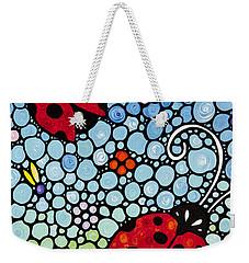 Joyous Ladies Ladybugs Weekender Tote Bag