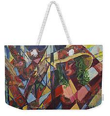 Joys Intended Weekender Tote Bag by Avonelle Kelsey