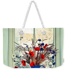 Jug Of Flowers Weekender Tote Bag