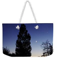 Julian Night Sky 2013 A Weekender Tote Bag
