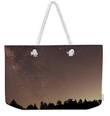 Julian Night Sky Milky Way Weekender Tote Bag