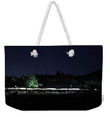 Julian Night Sky Weekender Tote Bag