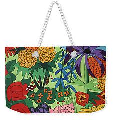 July Garden Weekender Tote Bag by Rojax Art