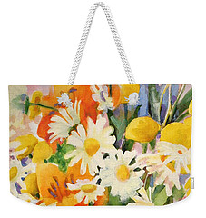 July Summer Arrangement  Weekender Tote Bag