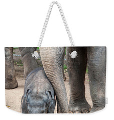 Jumbo Love Weekender Tote Bag by Ray Warren