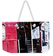 Jump On Board Weekender Tote Bag