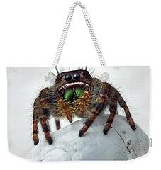 Jumper Spider 2 Weekender Tote Bag