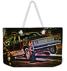 Jumping Chevelle Weekender Tote Bag