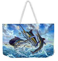 Jumping Grand Slam And Flyingfish Weekender Tote Bag