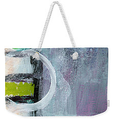 Junction- Abstract Expressionist Art Weekender Tote Bag