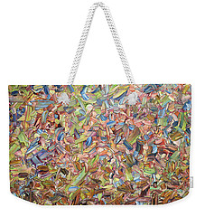 Weekender Tote Bag featuring the painting June by James W Johnson