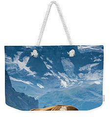 Jungfrau Cow - Grindelwald - Switzerland Weekender Tote Bag