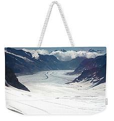 Jungfrau Glacier Weekender Tote Bag