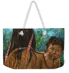 Jungle Family Weekender Tote Bag by Sandra LaFaut