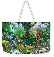 Jungle Harmony Weekender Tote Bag by Chris Heitt