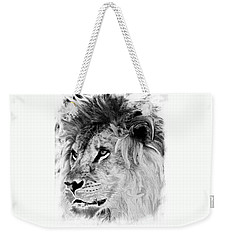 Jungle King Weekender Tote Bag
