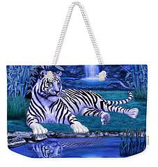 Jungle Tiger Weekender Tote Bag by Glenn Holbrook