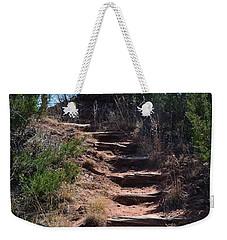 Juniper Ridge Steps Weekender Tote Bag