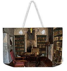 Junipero Serra Library In Carmel Mission Weekender Tote Bag by RicardMN Photography