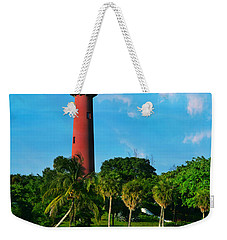 Jupiter Florida Lighthouse Weekender Tote Bag
