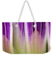 Weekender Tote Bag featuring the photograph Just A Dahlia 1 by Wendy Wilton