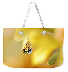 Just A Drop Of Spring Weekender Tote Bag by Susan Capuano