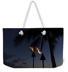 Just After Sunset The Beach Party Is Starting Weekender Tote Bag