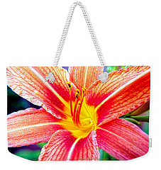 Just Another Day Lilly Weekender Tote Bag by Mayhem Mediums