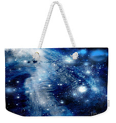 Just Beyond The Moon Weekender Tote Bag by Janice Westerberg