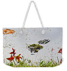 Weekender Tote Bag featuring the photograph Just Hanging Out by Cynthia Guinn