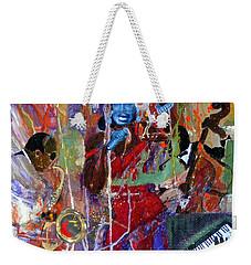 Just Jazzin Weekender Tote Bag