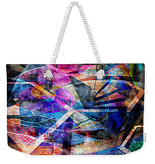 Just Not Wright - Square Version Weekender Tote Bag