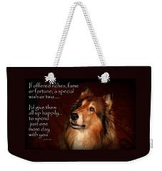 Just One More Day Weekender Tote Bag