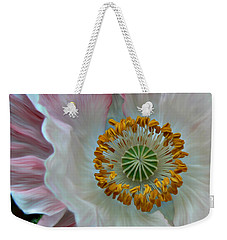 Weekender Tote Bag featuring the photograph Just Opened by Barbara St Jean