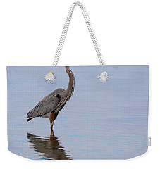Weekender Tote Bag featuring the photograph Just Saying Howdy by John M Bailey