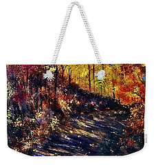 Just The Sound Of The Forest... Weekender Tote Bag