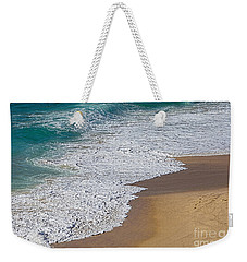 Just Waves And Sand By Kaye Menner Weekender Tote Bag by Kaye Menner