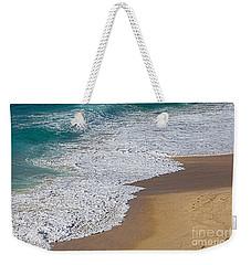 Just Waves And Sand By Kaye Menner Weekender Tote Bag