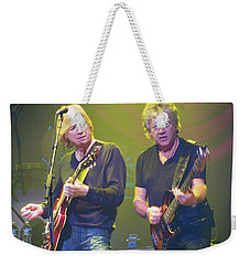Justin Hayward And John Lodge Weekender Tote Bag