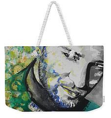 Justin Timberlake...01 Weekender Tote Bag by Chrisann Ellis