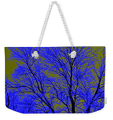 Juxtaposed Weekender Tote Bag