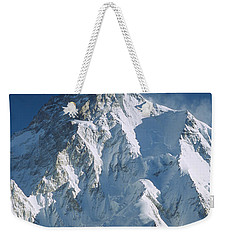 K2 At Dawn Pakistan Weekender Tote Bag by Colin Monteath
