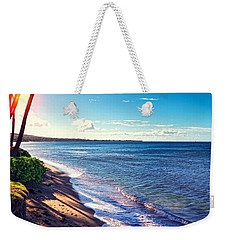 Kaanapali Beach Weekender Tote Bag by Lars Lentz