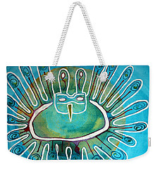Kachina Was A Dancer Original Painting Weekender Tote Bag
