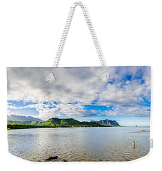 Kahaluu Fish Pond Panorama Weekender Tote Bag
